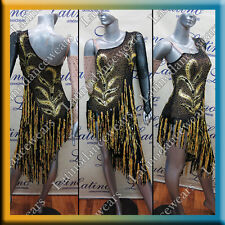LATIN RHYTHM SALSA BALLROOM COMPETITION DANCE DRESS (LS209B)
