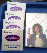 Lot of HP Colorado DT-4200 4.2GB Cartridges QIC-3095 & SyQuest Ezflyer & IBM 64