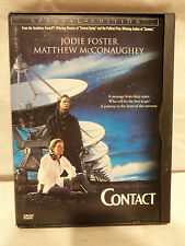 Contact DVD Thriller Drama Jodie Foster Matthew McConaughey Special Edition OOP