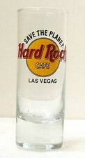 HARD ROCK CAFE LAS VEGAS Save The Planet SHOT GLASS - Collectible