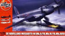 Airfix De Havilland Mosquito NF.Mk.II / VI / XVIII 1942 '45  Modell-Bausatz 1:72