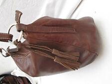 AUTHENTIQUE sac à main   BLUMARINE cuir bag vintage BEG à saisir