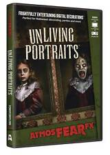 Halloween Prop - AtmosFearFx UNLIVING PORTRAITS DVD for TV or window projection