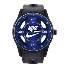 Nike Sports Watch Unisex Blue Black Luxury Color Brand New