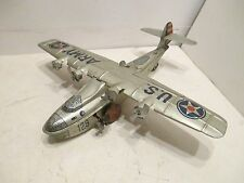 US ARMY FOUR ENGINE SEA PLANE WIND-UP VERY GOOD CONDITION CHIEN scarce