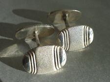 Art Deco Manschettenknöpfe, Silber 835, um 1920-30, schönes Design