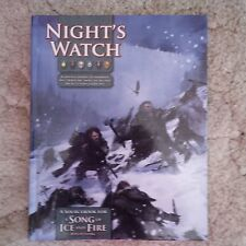 Night's Watch : Song of Ice and Fire rpg BOOK NEW game of thrones