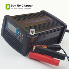 7-stage 12V Volt 10A/15A/20A Battery Charger Car Maintainer Desulfation Charger