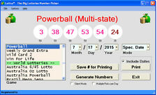 Lottra - Lottery # Picker All States Powerball EuroMillions on CD Windows 7/8/10