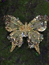 Katherine's Collection Butterfly Sparkles With Clip