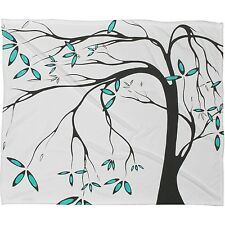 "Deny Designs ""Aqua Breeze"" Fleece BABY (or PET) BLANKET 40 x 30 * Retail $59"