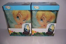 DISNEY FAIRIES TINKER BELL CLOTH BUCKET SEAT COVERS SET OF 2 BY PLASTICOLOR NEW