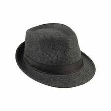 Hot Unisex Fedora Trilby Hat Cap Straw Panama Style Packable Travel Sun Hat~JX