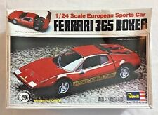REVELL FERRARI 365 BOXER 1979 1/24 SCALE EUROPEAN SPORTS CAR MODEL KIT