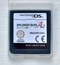 Final Fantasy Tactics A2 Nintendo DS NDS Lite 2DS XL 3DS DSi RPG Strategy Game