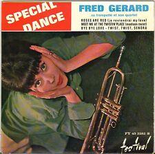 """FRED GERARD """"BYE BYE LOVE"""" POP JAZZ 60'S EP FESTIVAL 2282 GEORGES ARVANITAS !"""