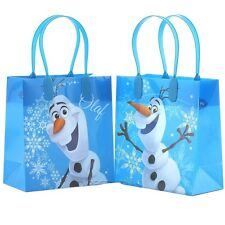 Disney Frozen Olaf reusable birthday Party Favor Goodie Gift candy Bags(12 bags)