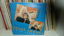 "PRESS AGENCY ""AIR DE DANCE/GO MACHAKUDA"" 7"""