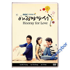 """""""BUY 5 GET 1 FREE"""" Hooray for Love Korean Drama (10DVDs) Excellent English!"""