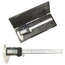 6 Inch 150mm LCD Digital Vernier Caliper Gauge Ruler Stainless Steel