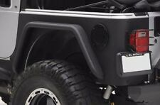 "Rear Armor Combo Corner Guards + 3"" Fender Flares Fit JEEP TJ 97-06 Wrangler"