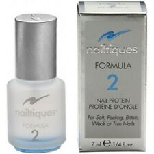 Nailtiques Formula 2 ~NAIL PROTEIN FOR SOFT/PEELING/BITTEN/WEEK/THIN NAILS 7ML~