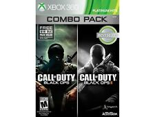 Call Of Duty Black OPS 1 & 2 Combo Xbox 360