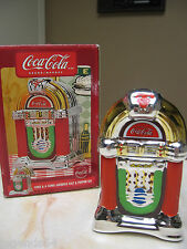 COCA COLA COKE AND A SONG JUKEBOX SALT AND PEPPER SHAKER SET -  NIB