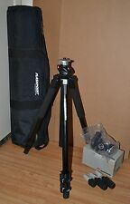 Manfrotto 055xPROB Tripod & 804RC2 Tilt Head with Qck Lock and Flashpoint Case
