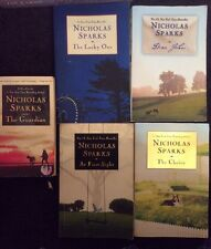 Lot of 5 Nicholas Sparks Novels Lucky One, Guardian, Choice, Dear John~Free Ship