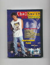 CHAD SMITH - FLEA - DRUM & BASS GUITAR NEW DVD DRUMS
