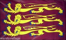 "RICHARD THE LIONHEART ENGLISH FLAG 18""X12"" HISTORICAL FLAGS BOATS TREEHOUSES UK"