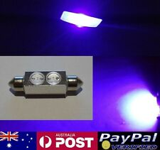 Purple UV 2W Hi Power LED 42mm Festoon Bulb - Holden Commodore VP VN VR VS SS