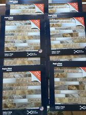 Peel And Stick Mosaics Backsplash Tile.20Sheets. 677547