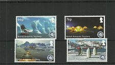 BRITISH ANTARCTIC TERRITORY 2016 IAATO TOURISIM  SET  MNH
