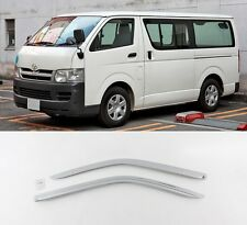 SAFE Chrome Door Sun Visor 2Pcs For Toyota Hiace 1999 2005