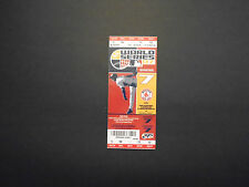 RED SOX UNUSED WORLD SERIES TICKET 2007 GAME #7  EXCELLENT / NEAR MINT CONDITION