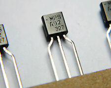 MPSA92 TRANSISTOR BIPOLAR PNP 300V TO92 ELECTRONIC COMPONENT MPSA92RLRA QTY: 10