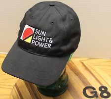 SUN LIGHT & POWER SOLAR ENERGY BERKELEY CALIFORNIA HAT VERY GOOD CONDITION