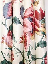 Vintage Waverly Wallpaper Lot of 4 Sealed Double Rolls #558460 Floral