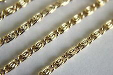 Wholesale 10 Pcs 18 Inch Gold Plated 2.3 MM Scroll Chain Necklace Lot