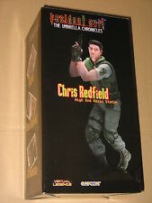 Resident evil Chris Redfield 27cm Resin Statue Gaya Capcom limited to 1500 pcs