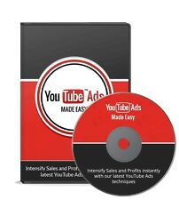 YouTube Ads Made Easy- 18 Videos on 1 CD
