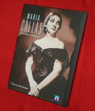 RARE OOP Maria Callas La Davina A Portrait FF DVD 1987 Winner Best Documentary