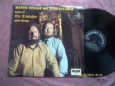 MARTIN WINSOR & REDD SULLIVAN hosts of THE TROUBADOUR WITH FRIENDS LP FOLK