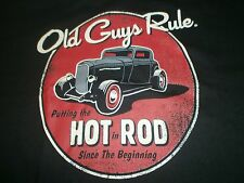"OLD GUYS RULE "" PUTTING THE HOT IN ROD "" SINCE THE BEGINNING"" S/S T-SHIRT XL"