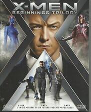 X-Men. Beginnings Trilogy (2016) 3 Blu Ray