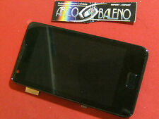 DISPLAY LCD+TOUCH SCREEN per SAMSUNG GALAXY S2 GT i9100 +FRAME COVER NERO BLACK