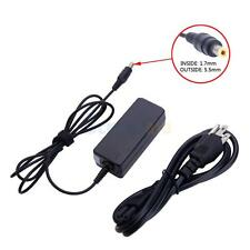40W Charger AC Adapter for Acer Aspire One A110L weiss A110X Black Edition