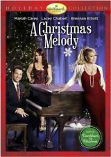A CHRISTMAS MELODY Hallmark Mariah Carey WITH OUTER SLEEVE USED VERY GOOD DVD